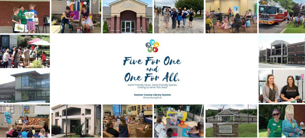 Five for one and one for all - Sumner County Library System