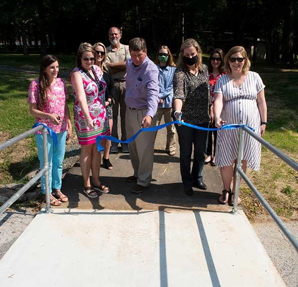 Rockland Trail Extension Dedication